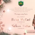 Kel. Besar BPKPD Kab. Malaka Mengucapkan Selamat Natal 2020 & Tahun Baru 2021