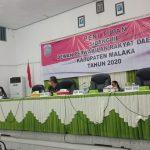 Penutupan Sidang III DPRD Kab. Malaka Tahun 2020